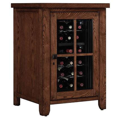 Bello EC9740RW22-O1 Dakota Right Wine Pier with 6 Shelves, 18-Bottle Capacity, Glass Door and Thermoelectric Technology in