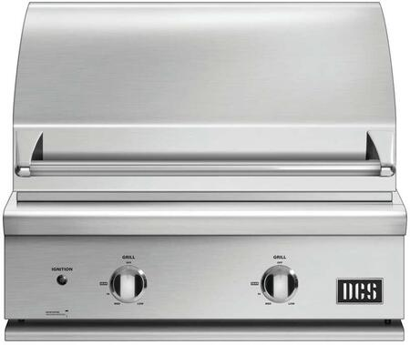 "DCS BGC30BQN 30"" Stainless Steel Built-In Grill"