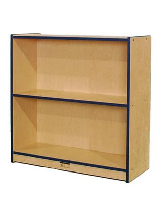 Mahar N36SCASEBK  Wood 2 Shelves Bookcase