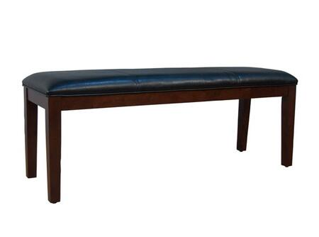 AAmerica PRSES291K Parson Series Accent  Solid Hardwood Leather Bench