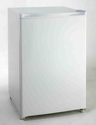Avanti RM4506W  Freestanding  Refrigerator with 4.5 cu. ft. Capacity,  Field Reversible Doors