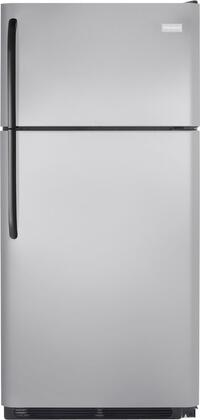 Frigidaire FFTR1814LM Freestanding Top Freezer Refrigerator with 18.2 cu. ft. Total Capacity 2 Wire Shelves 4.07 cu. ft. Freezer Capacity
