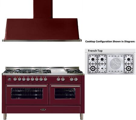 Ilve 721705 Majestic Techno Kitchen Appliance Packages