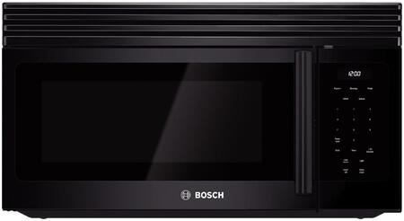 "Bosch HMV30 300 Series 30"" Over-the-Range Microwave with 300 CFM Exhaust Capacity, 1100 Cooking Watts, Auto-Reheat Adjustment Feature, Auto-defrost and Timer"