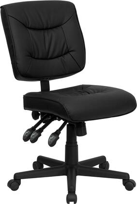 "Flash Furniture GO1574BKGG 25"" Contemporary Office Chair"