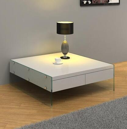 VIG Furniture VGCNAURAWHTCT White Modern Table