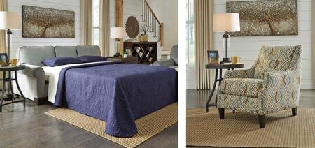 Benchcraft 84501QSCAC Benld Living Room Sets