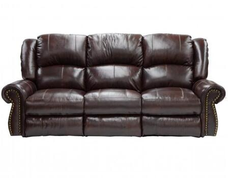 Catnapper 4505127404307404 Livingston Series  Leather Sofa