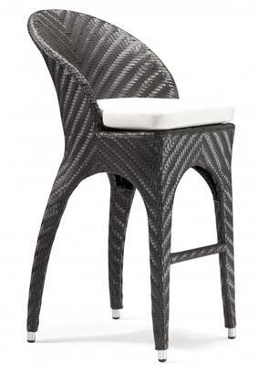 Zuo 701220 Corona Series  Patio Chair