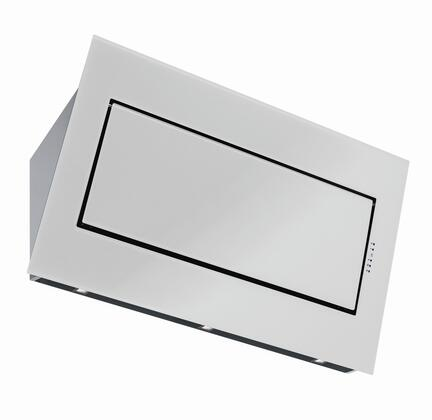"""Futuro Futuro WLQUESTWHT X"""" Quest Series Wall Mount Range Hood with 940 CFM, Halogen Lights, 4 Speed Touch-Sensitive, in White"""
