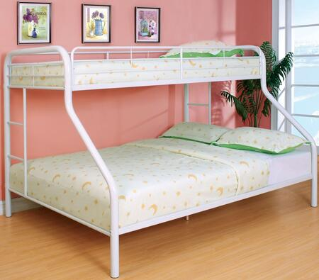 Furniture of America CMBK1133WHBED Rainbow Series  Bed