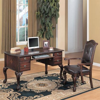 Yuan Tai 7140 Ahi Series Writing Desk with Chair  Desk