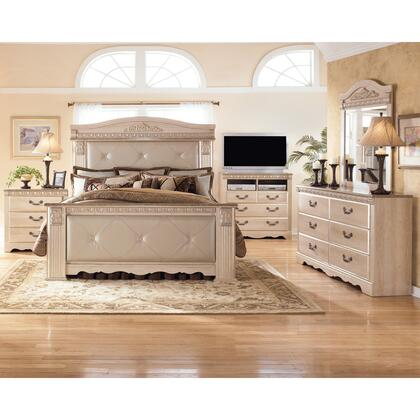 Signature Design By Ashley B17456586299 Silverglade Series King Size Bed Appliances Connection