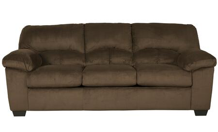 Sofa in Chocolate Brown