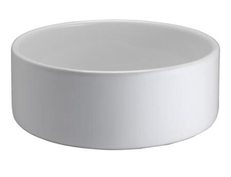 Barclay E244B White Above Counter Sink