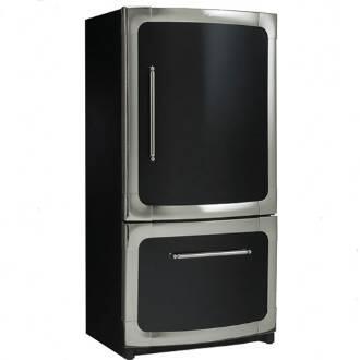 Heartland 311500L0200 Classic Series Counter Depth Bottom Freezer Refrigerator with 20 cu. ft. Total Capacity 5.5 cu. ft. Freezer Capacity 4 Glass Shelves