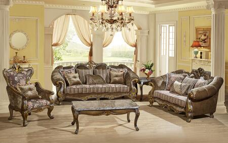 Meridian 6563PCSTLARMKIT1 Stefania Living Room Sets