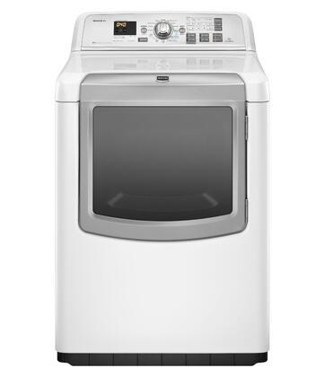 Maytag MEDB950YW Bravos XL Series 7.3 cu. ft. Electric Dryer, in White