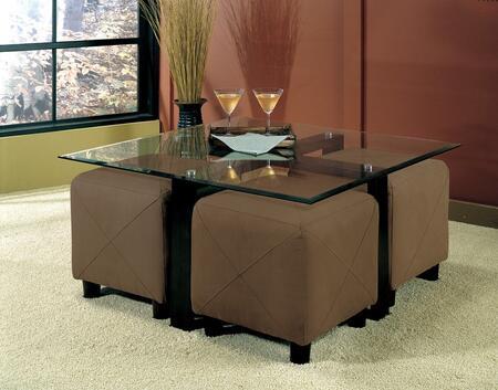 Coaster 700026M Cermak Living Room Table Sets