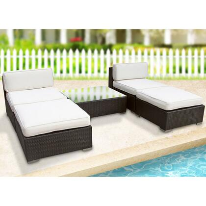 East End Imports EEI615EXPWHI  Patio Sets