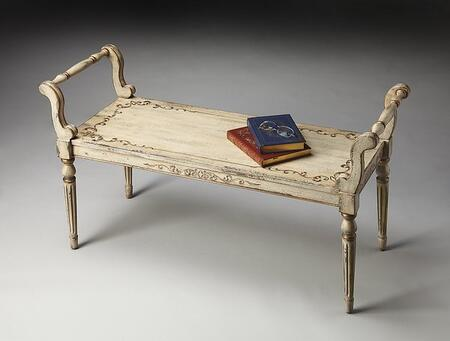 Butler 1220238 Accent  Wood Not Upholstered Bench