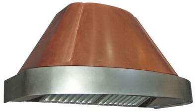 Shown in Antique Copper with Stainless Steel Trim