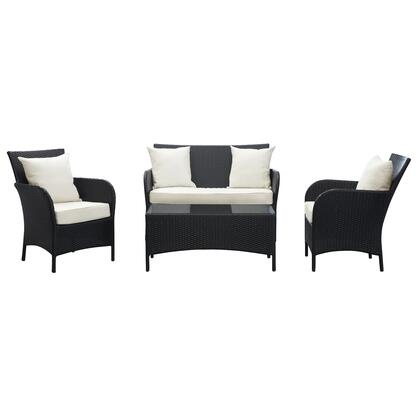 Modway EEI725 Modern Rectangular Shape Patio Sets