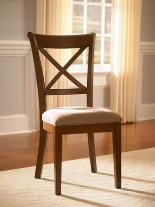 AAmerica DESSI247K Desoto Series Contemporary Fabric Solid Hardwood Frame Dining Room Chair