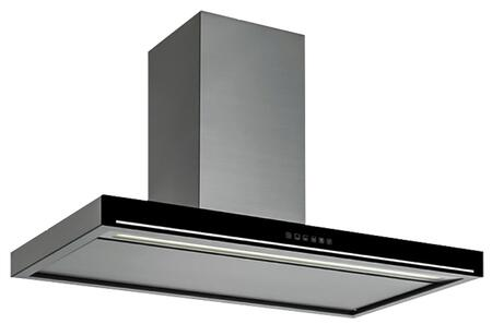 Futuro Futuro WL36EDGEX Edge Series Range Hood with 940 CFM, 4-Speed Optical Controls, Delayed Shut-Off, Filter Cleaning Reminder, and in x