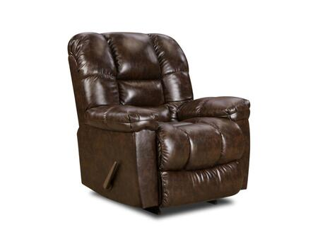 Chelsea Home Furniture 1895504800 Transitional New Era Walnut Wood Frame  Recliners