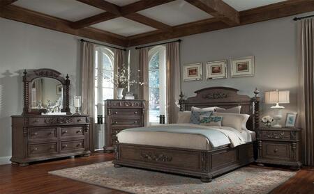 Klaussner 980050DMNS Versailles Queen Bedroom Sets