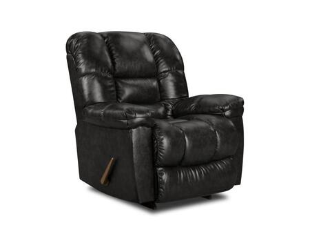 Chelsea Home Furniture 1895504801 Transitional New Era Black Wood Frame  Recliners