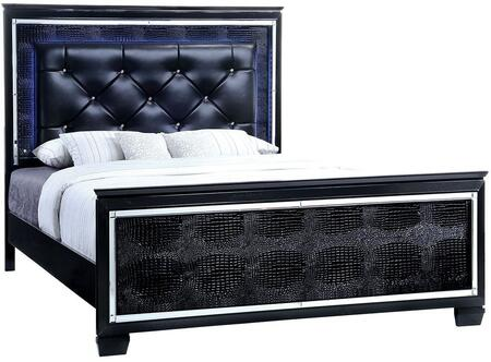 Furniture of America CM7979BKEKBED Bellanova Series  Eastern King Size Bed