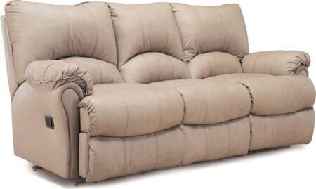 Lane Furniture 20439511660 Alpine Series Reclining Leather Match Sofa