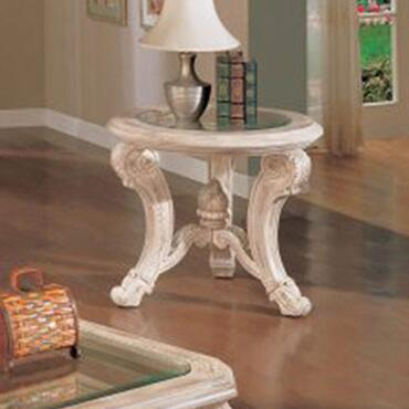 Yuan Tai CA2035-END Callie Series Traditional Wood  End Table