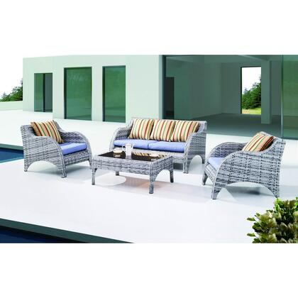 Modway EEI742 Modern Rectangular Shape Patio Sets