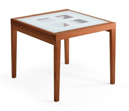 ESF Poker Collection i635i637 Extendable Table with Glass