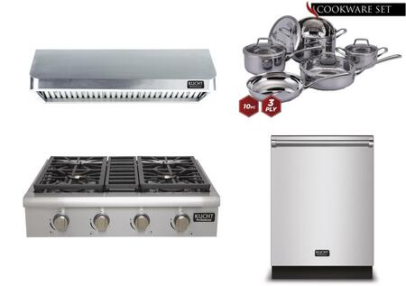 Kucht 810590 Professional Kitchen Appliance Packages