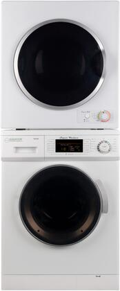 Equator 2PCFL24EWKIT1 Washer and Dryer Combos