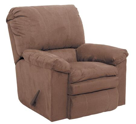 "Catnapper Impulse Collection 1240-2- 37"" Rocker Recliner with Pillow Pad Seats, Baseball Stitching and Split Back in"