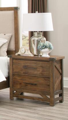 Coaster 204172 Bridgeport Series Rectangular Wood Night Stand
