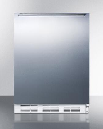 "AccuCold VT65M7BISSHHADA 24""  Freezer with 3.5 cu. ft. Capacity in Stainless Steel"