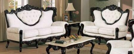 J. Horn 702WHITES2SET Living Room Sets