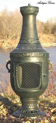 The Blue Rooster Company ALCH026 Venetian Chiminea Outdoor Fireplace