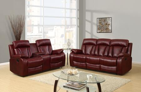 Global Furniture U97601QPU109RSCRLS1 U9760 Living Room Sets