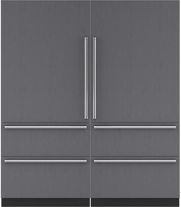 Sub-Zero 710377 Side-By-Side Refrigerators
