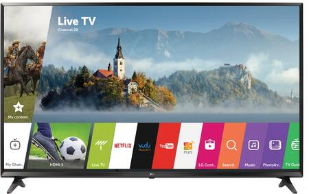 LG xUJ6300 4K UHD HDR Smart LED TV with Active HDR, IPS Technology, Channel Plus, webOS 3.5, in Black