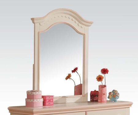 Acme Furniture 00767 Crowley Series Arched Portrait Dresser Mirror