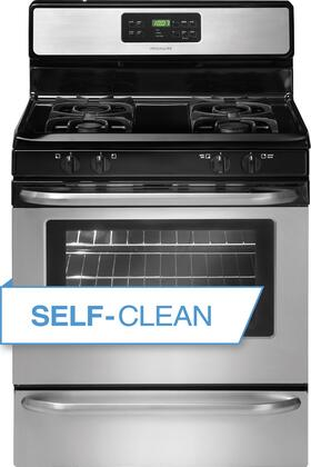 "Frigidaire FFGF3053LS 30"" Gas Freestanding Range with Sealed Burner Cooktop, 5 cu. ft. Primary Oven Capacity, Storage in Stainless Steel"