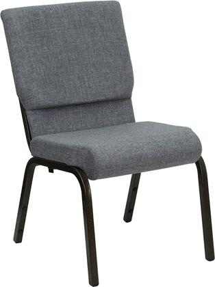 Flash Furniture XUCH60096BEIJINGGYGG Hercules Series Armless Fabric Metal Frame Accent Chair